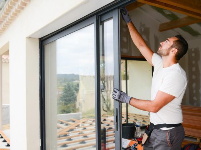 Installation fenêtre sur-mesure